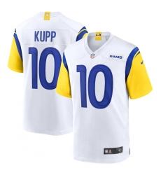 Men's Los Angeles Rams #10 Cooper Kupp Nike White Alternate Limited Jersey.webp