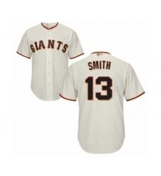 Men's San Francisco Giants #13 Will Smith Replica Cream Home Cool Base Baseball Jersey