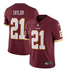 Men's Nike Washington Redskins #21 Sean Taylor Burgundy Red Team Color Vapor Untouchable Limited Player NFL Jersey