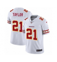Men's Washington Redskins #21 Sean Taylor White Team Logo Cool Edition Jersey