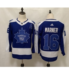 Men's Toronto Maple Leafs #16 Mitchell Marner Blue 2020-21 Special Edition Breakaway Player Jersey