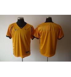 NCAA California Golden Bears Blank Yellow jersey