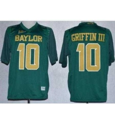 Baylor Bears Lache 10 Rebort Griffin Green NCAA Jerseys