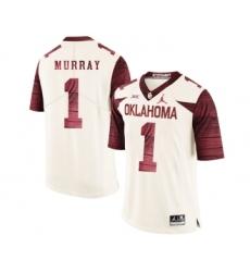 Oklahoma Sooners 1 Kyler Murray White 47 Game Winning Streak College Football Jersey