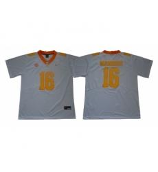 Tennessee Volunteers 16 Peyton Manning White Nike College Football Jersey