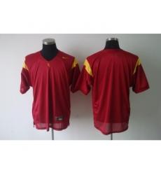 USC Trojans Blank Red Jerseys