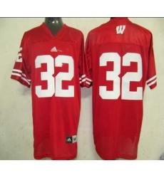 NCAA Wisconsin Badgers 32 Red Jerseys
