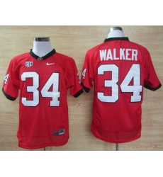 NEW Georgia Bulldogs Herschel Walker 34 2012 SEC Patch College Football Jersey