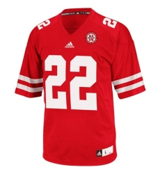 Nebraska Cornhuskers Rex Burkhead 22 Red College Football Jerseys