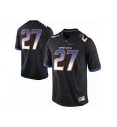 Boise State Broncos 27# Jay Ajayi Black College Football Nike NCAA Jerseys