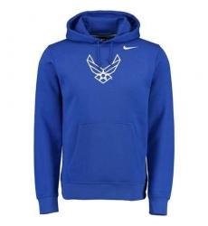 Air Force Falcons Nike Royal Big Logo Fleece Hoodie