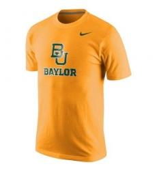 Baylor Bears Nike Logo T-Shirt Gold
