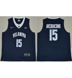 Villanova Wildcats #15 Ryan Arcidiacono Navy Blue Basketball Stitched NCAA Jersey