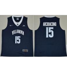 Villanova Wildcats #15 Ryan Arcidiacono Navy Blue Basketball Stitched NCAA Jersey