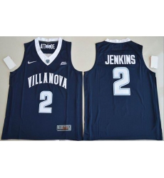 Villanova Wildcats #2 Kris Jenkins Navy Blue Basketball Stitched NCAA Jersey