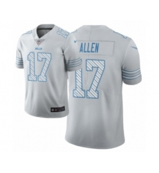 Men's Buffalo Bills #17 Josh Allen White Vapor Limited City Edition Jersey