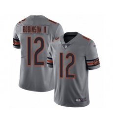 Youth Chicago Bears #12 Allen Robinson Limited Silver Inverted Legend Football Jersey