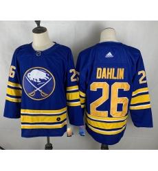 Men's Buffalo Sabres #26 Rasmus Dahlin Blue Fanatics Branded Royal Home Breakaway Jersey