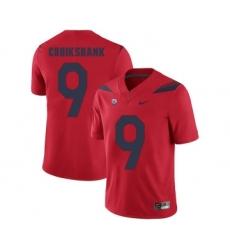 Arizona Wildcats 9 Dane Cruikshank Red College Football Jersey