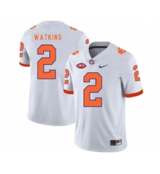 Clemson Tigers 2 Sammy Watkins White Nike College Football Jersey