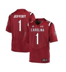 South Carolina Gamecocks 1 Alshon Jeffery Red College Football Jersey