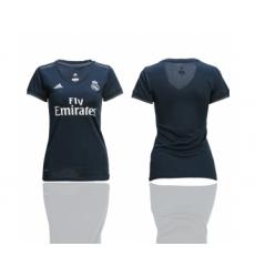 2018-19 Real Madrid Away Women Soccer Jersey