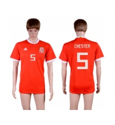 2018-19 Wales 5 CHESTER Home Thailand Soccer Jersey