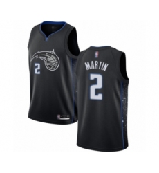 Men's Orlando Magic #2 Jarell Martin Authentic Black Basketball Jersey - City Edition