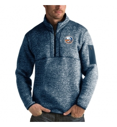 Men's New York Islanders Antigua Fortune Quarter-Zip Pullover Jacket Royal