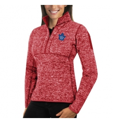 Toronto Maple Leafs Antigua Women's Fortune Zip Pullover Sweater Red