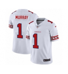 Men's Arizona Cardinals #1 Kyler Murray White Team Logo Cool Edition Jersey