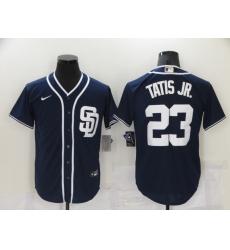 Men's San Diego Padres #23 Fernando Tatis Jr. Navy 2021 Jersey