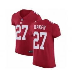 Men's New York Giants #27 Deandre Baker Red Alternate Vapor Untouchable Elite Player Football Jersey