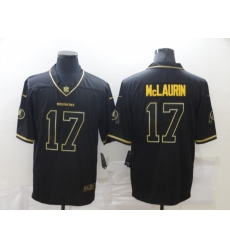 Men's Washington Redskins #17 Terry McLaurin Olive Gold Nike Limited Jersey