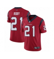 Men's Houston Texans #21 Bradley Roby Red Alternate Vapor Untouchable Limited Player Football Jersey