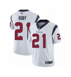 Men's Houston Texans #21 Bradley Roby White Vapor Untouchable Limited Player Football Jersey