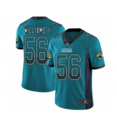 Men's Jacksonville Jaguars #56 Quincy Williams II Limited Teal Green Rush Drift Fashion Football Jersey