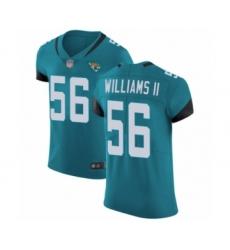 Men's Jacksonville Jaguars #56 Quincy Williams II Teal Green Alternate Vapor Untouchable Elite Player Football Jersey