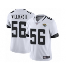 Men's Jacksonville Jaguars #56 Quincy Williams II White Vapor Untouchable Limited Player Football Jersey