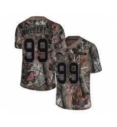Men's Los Angeles Chargers #99 Jerry Tillery Limited Camo Rush Realtree Football Jersey