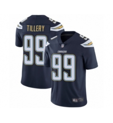 Men's Los Angeles Chargers #99 Jerry Tillery Navy Blue Team Color Vapor Untouchable Limited Player Football Jersey