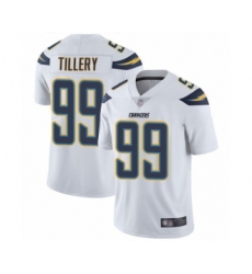 Men's Los Angeles Chargers #99 Jerry Tillery White Vapor Untouchable Limited Player Football Jersey