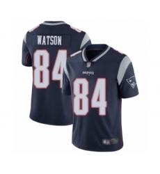 Men's New England Patriots #84 Benjamin Watson Navy Blue Team Color Vapor Untouchable Limited Player Football Jersey