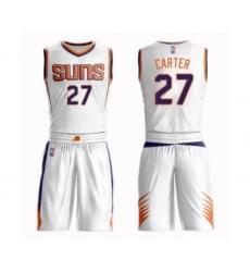 Men's Phoenix Suns #27 Jevon Carter Swingman White Basketball Suit Jersey - Association Edition
