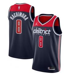 Men's Washington Wizards #8 Rui Hachimura Jordan Brand Navy 2020-21 Swingman Player Jersey