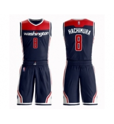 Women's Washington Wizards #8 Rui Hachimura Swingman Navy Blue Basketball Suit Jersey Statement Edition