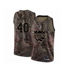 Men's Sacramento Kings #40 Harrison Barnes Swingman Camo Realtree Collection Basketball Jersey