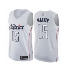 Women's Washington Wizards #15 Moritz Wagner Swingman White Basketball Jersey - City Edition