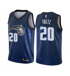 Men's Orlando Magic #20 Markelle Fultz Authentic Blue Basketball Jersey - City Edition
