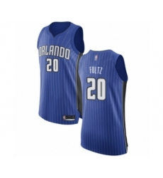 Men's Orlando Magic #20 Markelle Fultz Authentic Royal Blue Basketball Jersey - Icon Edition